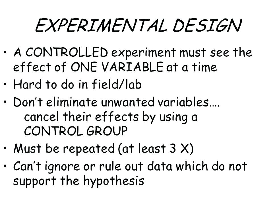 Analyzing Experimental Design Worksheet Answers – Streamclean Info