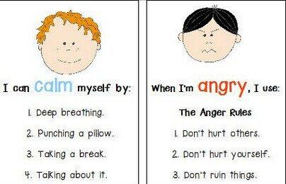 Anger Worksheets For Kids