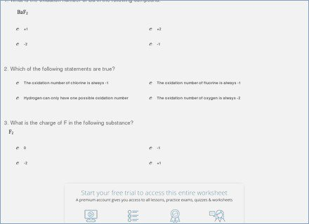 Assigning Oxidation Numbers Worksheet Answers – Careless Me