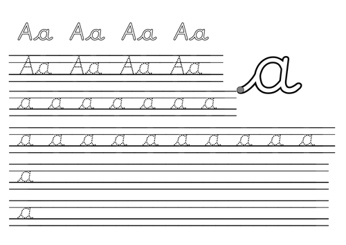 English Handwriting Worksheets Pdf Free Samples