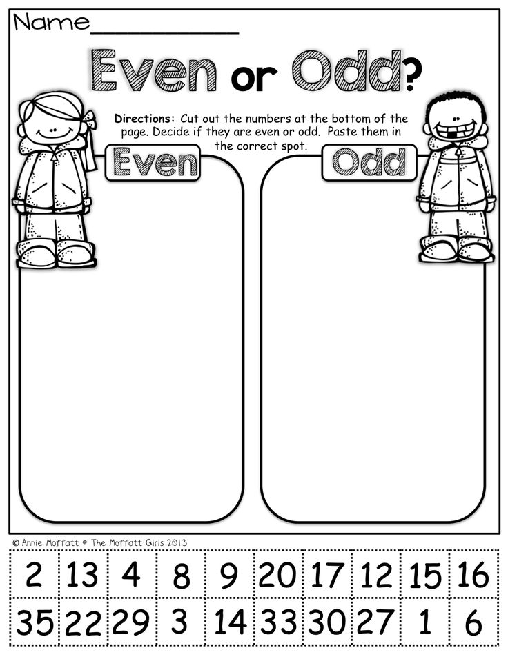 Brilliant Ideas Of Identifying Odd And Even Numbers Worksheets