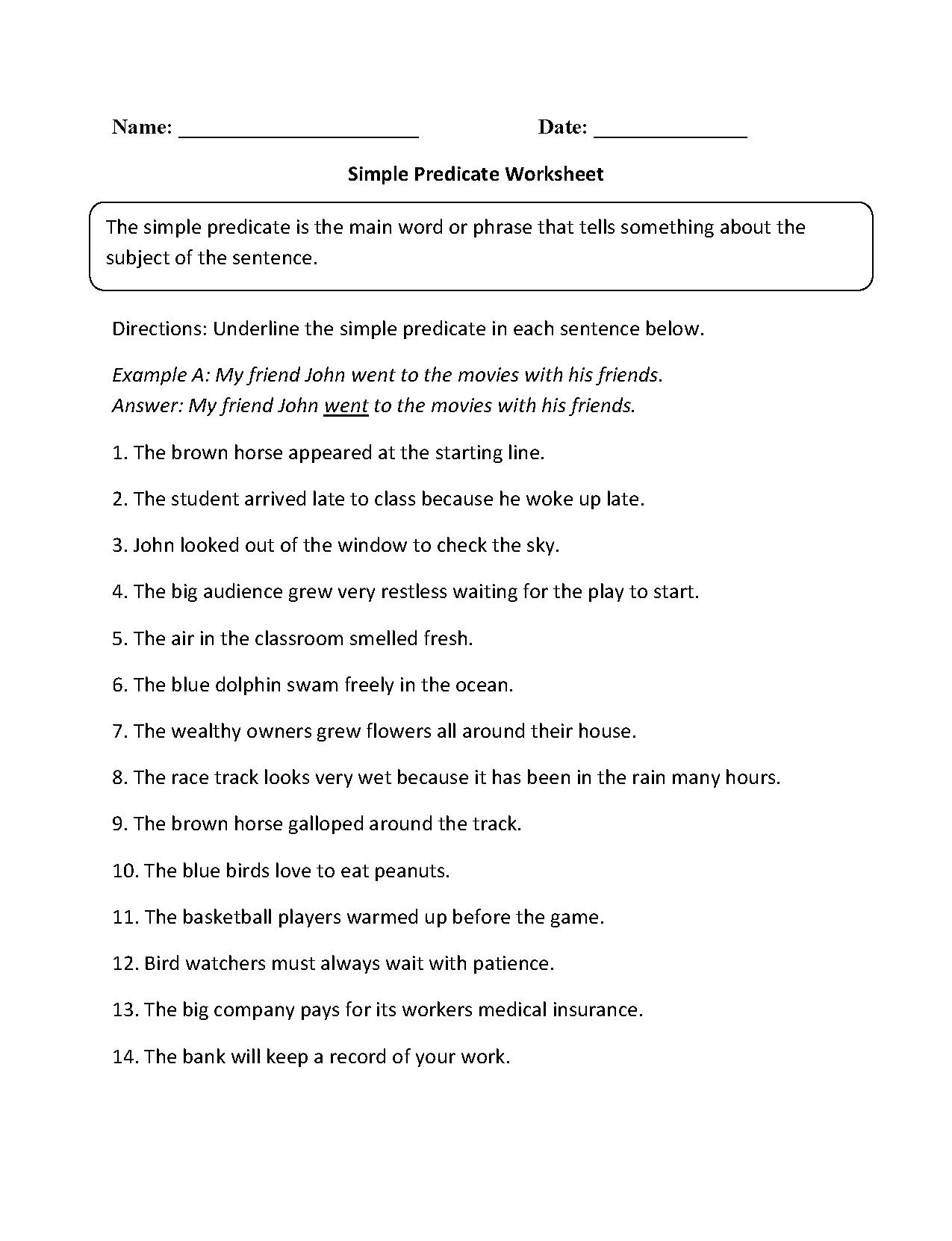 Brilliant Ideas Of Predicate Nominative And Predicate Adjective