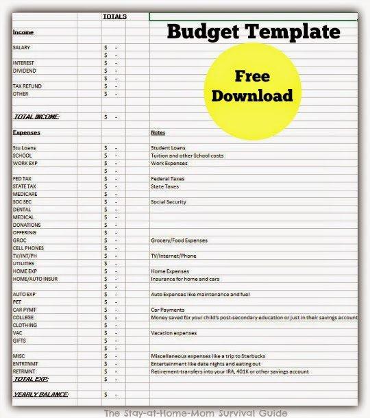Budgeting Home