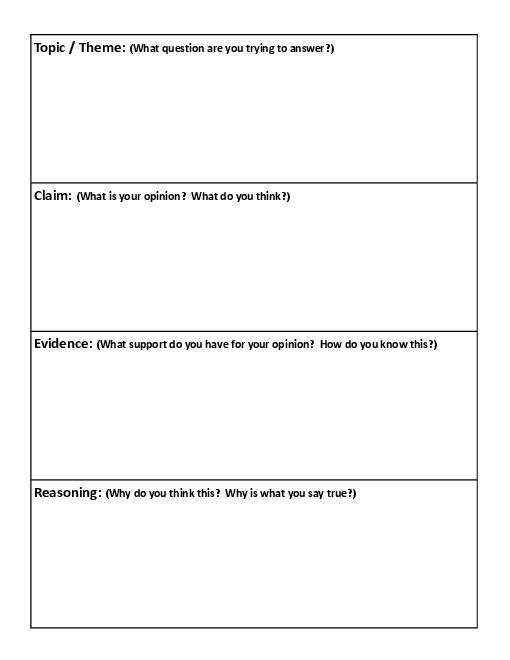 Bunch Ideas Of Claim Evidence Reasoning Worksheets Also Letter