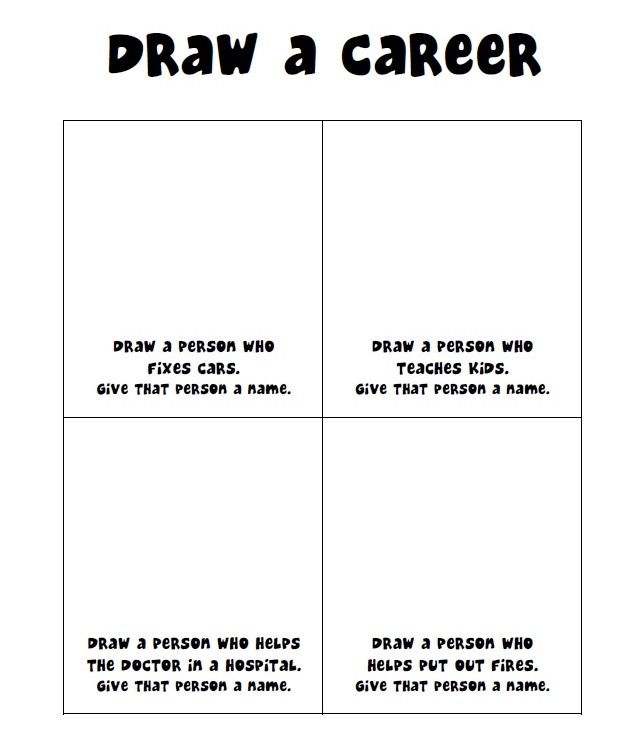 Career Worksheets For Elementary Students Worksheets For All