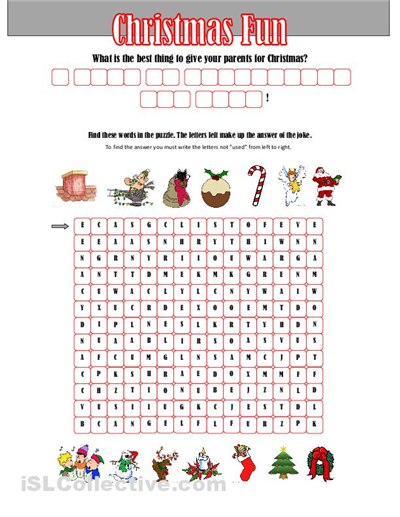 Christmas Math Worksheets For High School  Christmas  Best Free