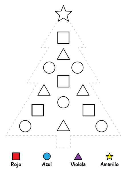 Christmas Shapes Worksheet – Festival Collections
