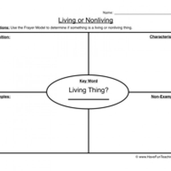 Classifying Living Things Worksheets Worksheets For All