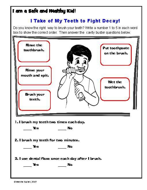 Common Worksheets Free Printable Hygiene Worksheets Hygiene