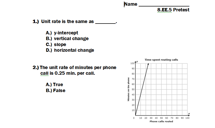 Comparing Rates Worksheet