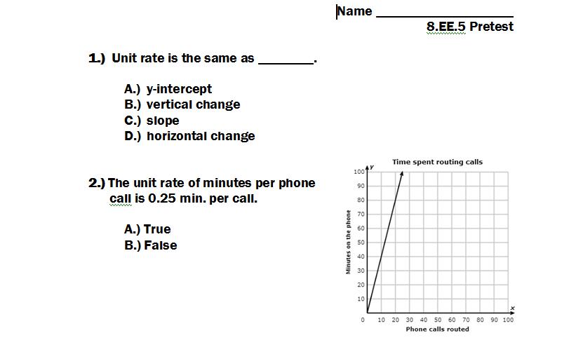 Comparing Rates Worksheet