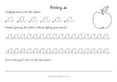 Cursive Letters Worksheet Az The Best Worksheets Image Collection