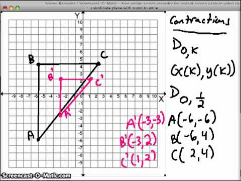 Dilation In The Coordinate Plane ( Video )