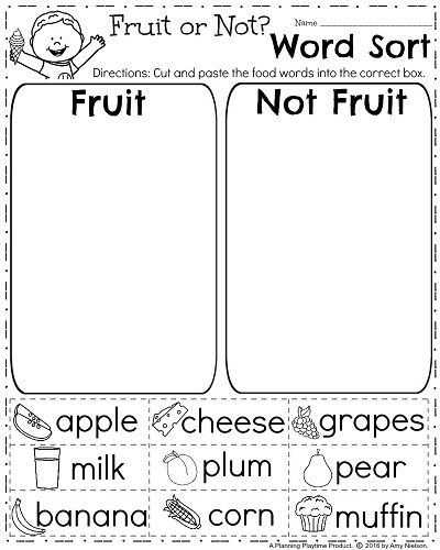 English Worksheets For Kids Worksheets For All