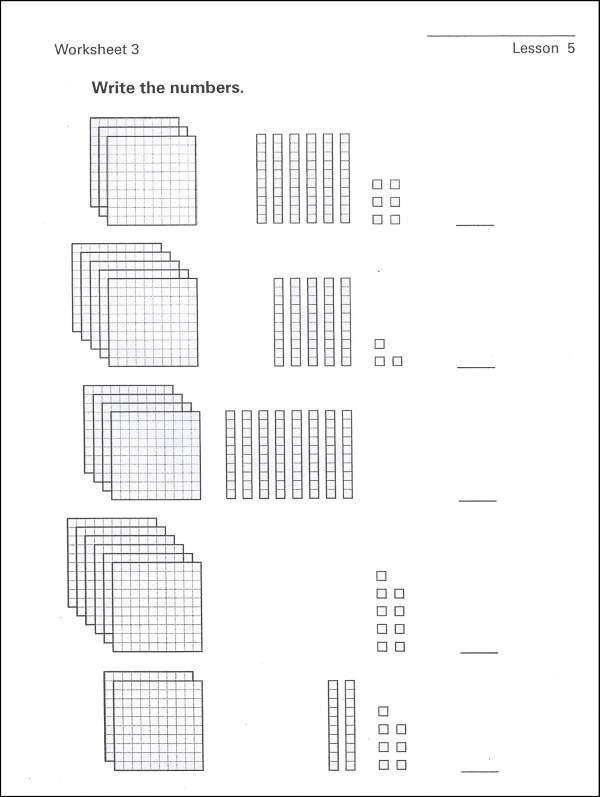 Envision Math 3rd Grade Worksheets