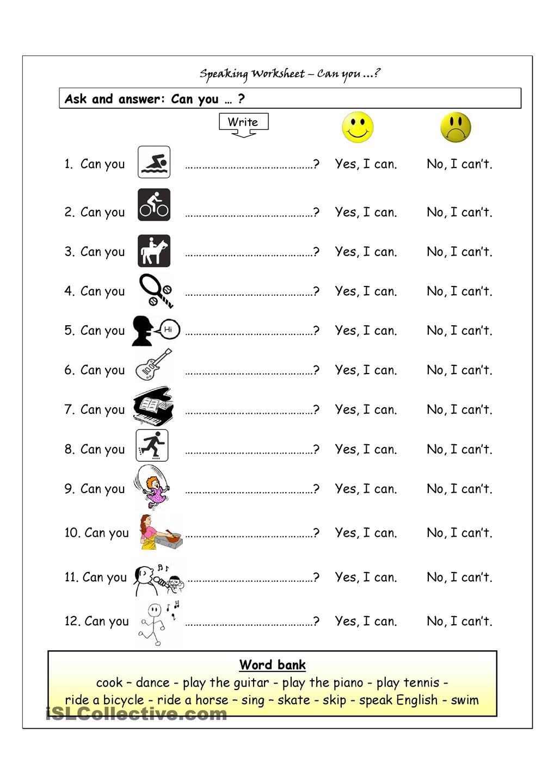 Esl Printables Free Esl Worksheets 11