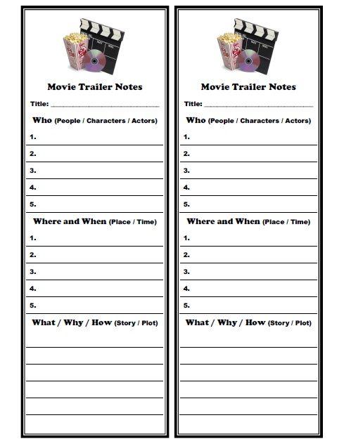 Film Music Worksheets