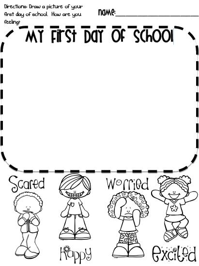 First Day Of School! Freebie!