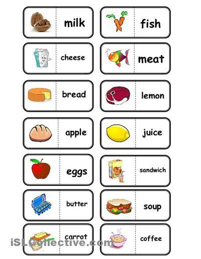 Food Dominoes