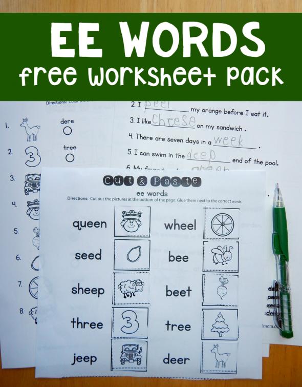 Free Ee Worksheets