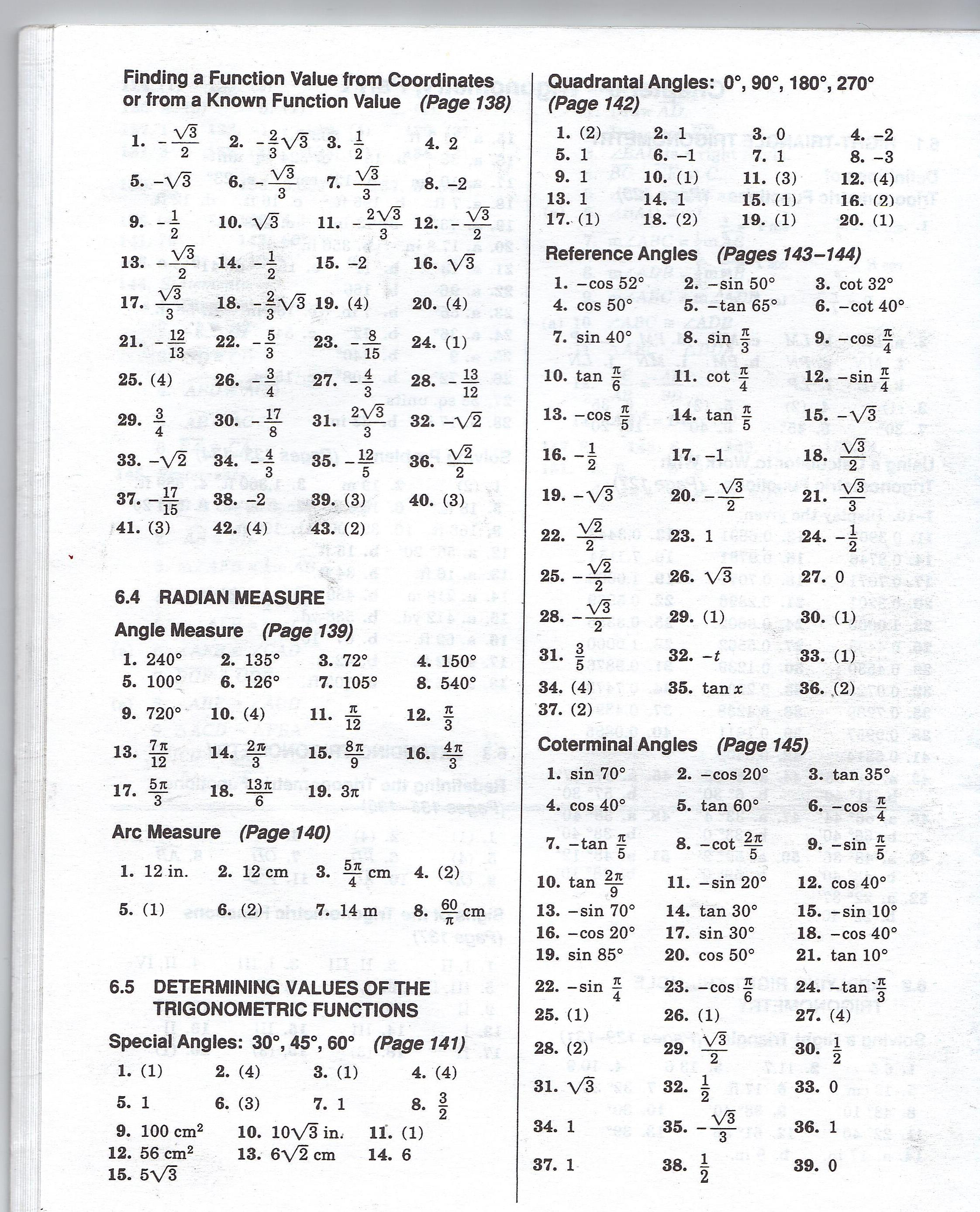 Functions Algebra 1 Worksheet
