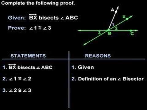 Geometry Proofs