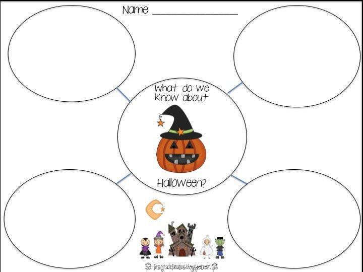 Halloween Worksheets 1st Worksheets For All
