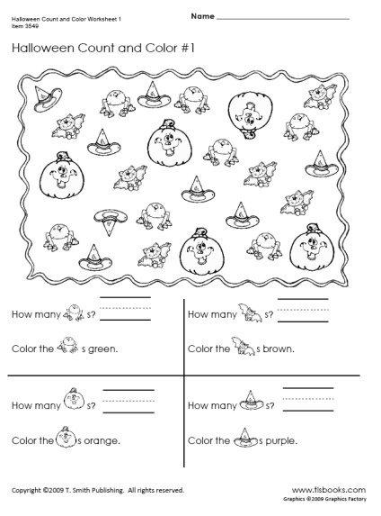 Halloween Worksheets 2nd Grade Worksheets For All