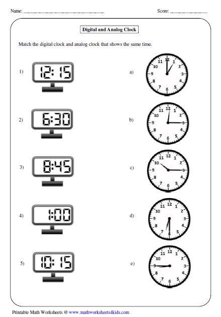 Kindergarten Telling Time Worksheets All Kinds Of Time Worksheets