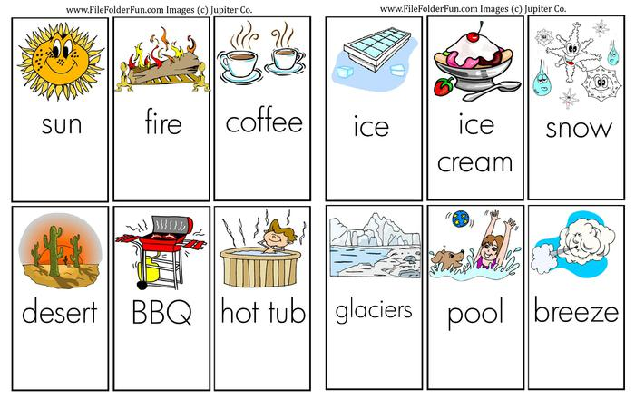 Hot And Cold Worksheets For Preschool Free Sles. Learning About Hot Cold. Kindergarten. Hot And Cold Worksheets For Kindergarten At Clickcart.co