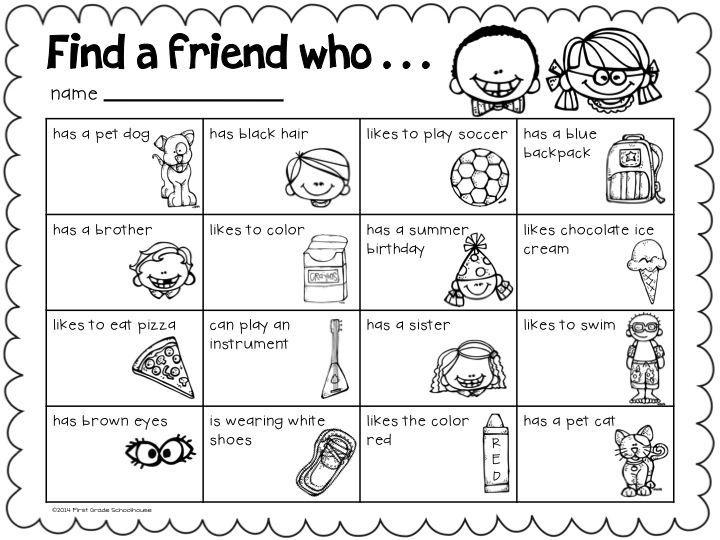 Making Friends Worksheets Worksheets For All