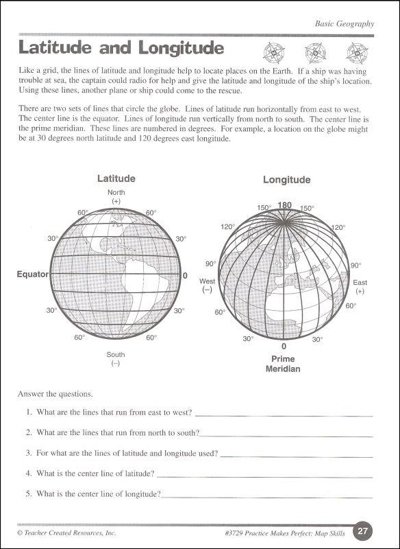 Map Skills Grade 4 (pmp) (008697) Details