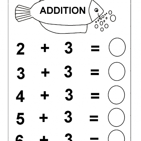 Math Worksheets Kindergarten Printable For Australia Match It U