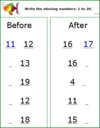 Maths Worksheet For Kindergarten Printables