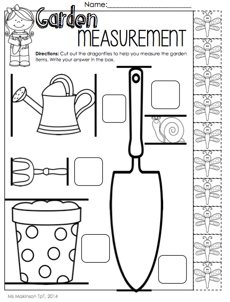 Measuring With Nonstandard Units Worksheets Worksheets For All