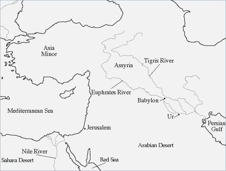 Mesopotamia Map Worksheet – Careless Me