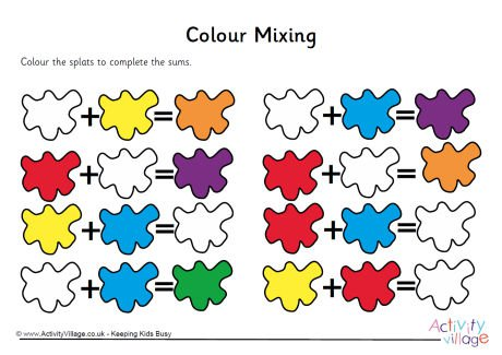 Mixing Colors Crayon Clipart Explore Pictures On Free Worksheets A