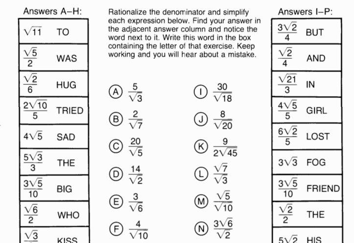 Moving Words Math Worksheet Worksheets For All
