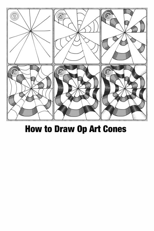 Op Art Step By Step