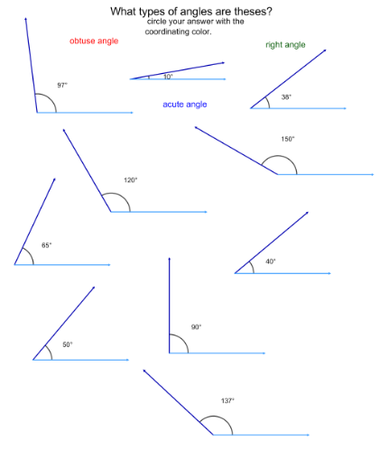 Pictures Geometry 7th Grade Worksheets