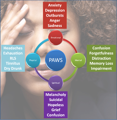 Post Acute Withdrawal Syndrome (paws)