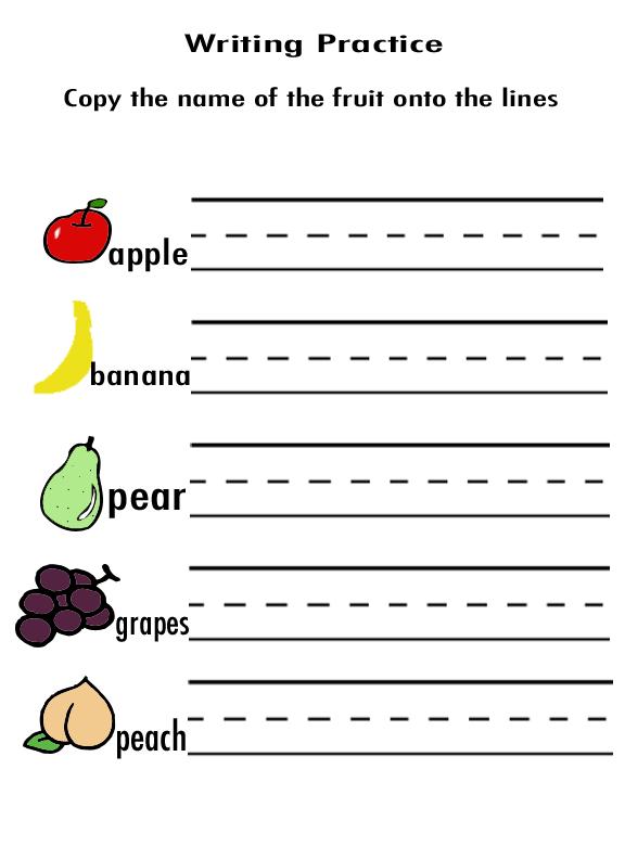 Practice Handwriting Sheets For Preschoolers — Alyssa Cuni