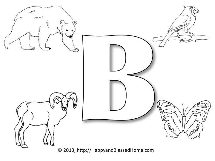 Pre School Alphabet Printables