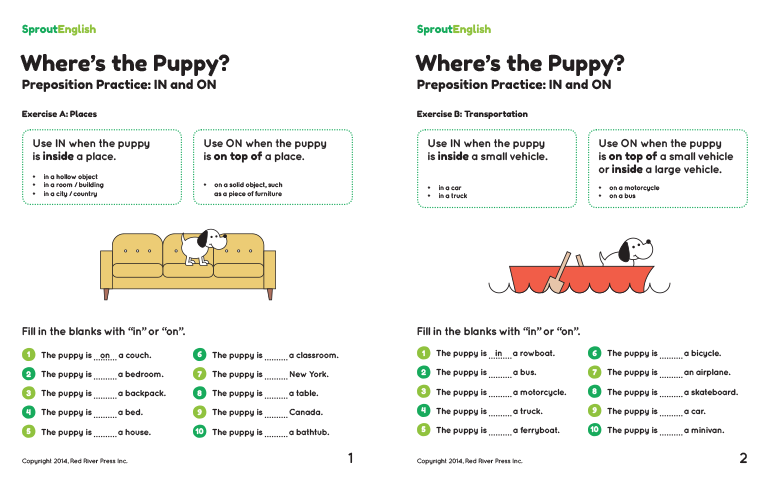 Prepositions Worksheet Pdf Worksheets For School