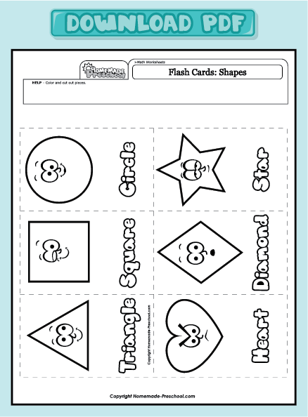 Preschool Worksheet Pdf Worksheets For All