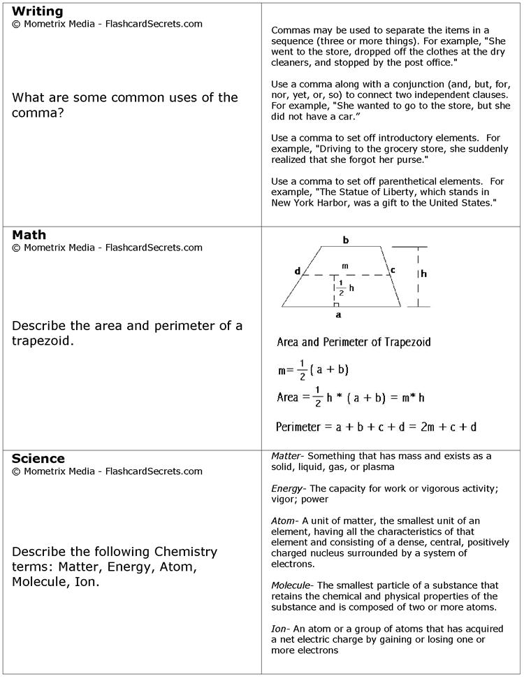 Printable Ged Practice Test Ged Prep Worksheets 0