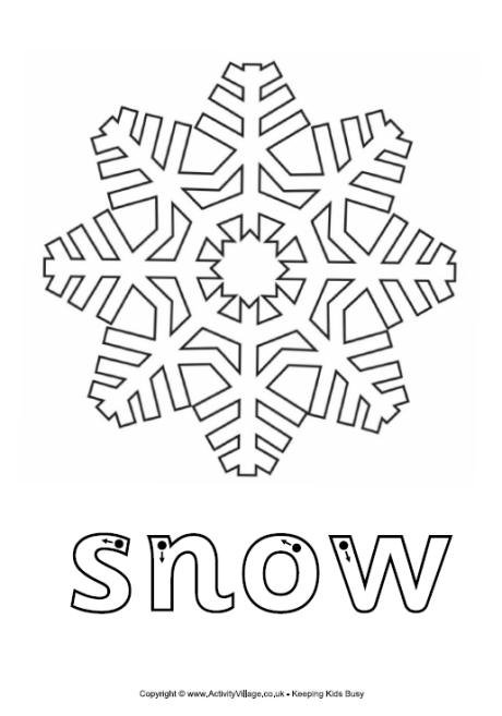 Snow Finger Tracing