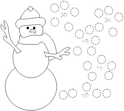 Snowman Worksheets Worksheets For All