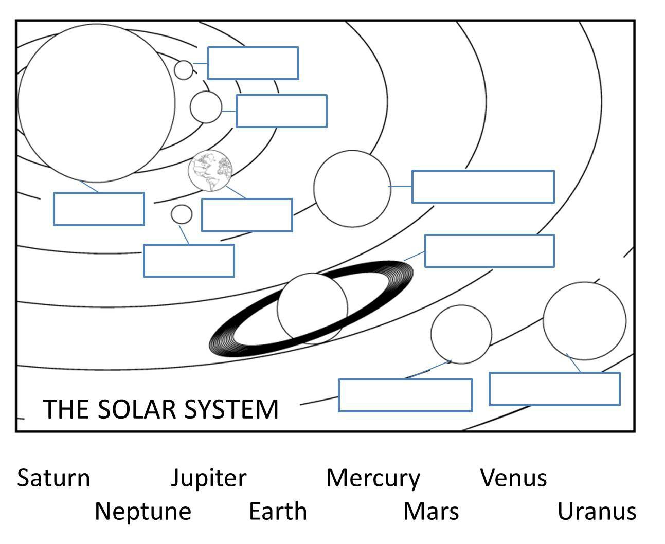 Solar System Worksheets Free Worksheets For All