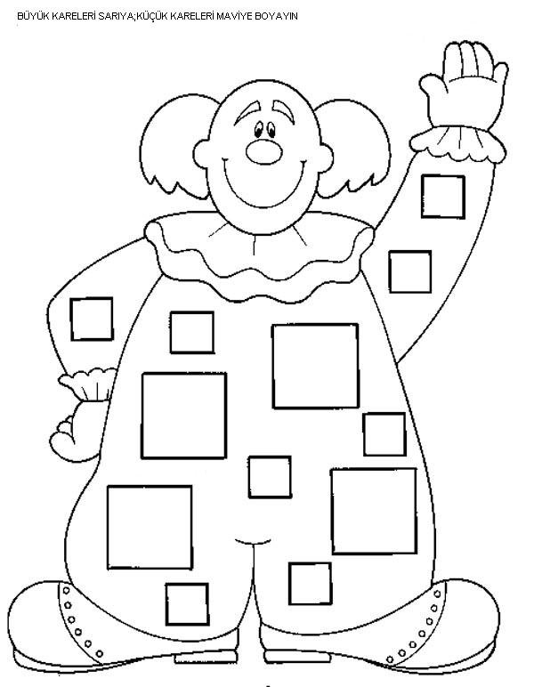 Square Worksheets For Preschool